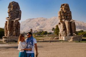 Egypt Day Tours - Memnon colossi